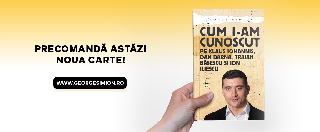 George Simion - Cum i-am cunoscut pe Klaus Iohannis, Dan Barna, Traian Basescu si Ion Iliescu